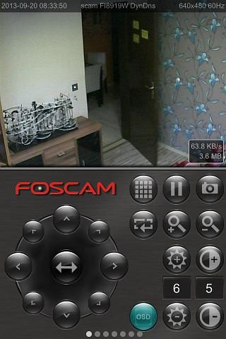 Multi Foscam FC - IP camera surveillance - APPZER de