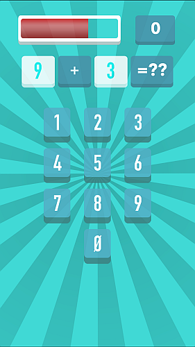 Screenshot Prof. Math - an addictive arithmetic game iPhone iPad Game 2