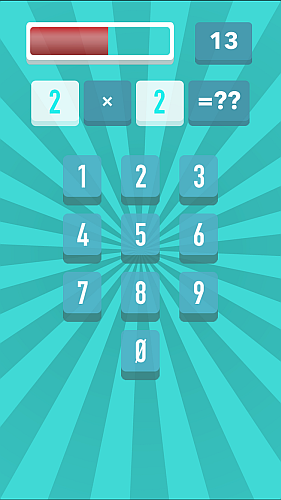 Screenshot Prof. Math - an addictive arithmetic game iPhone iPad Game 4